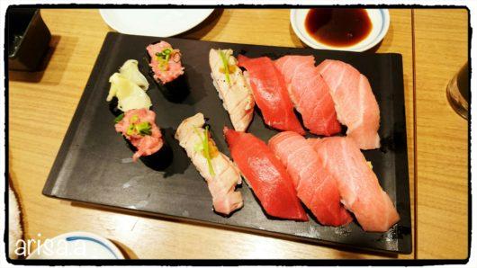 すしざんまいのお寿司