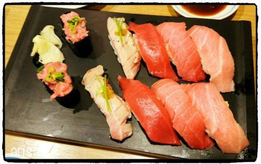 鮪のお寿司