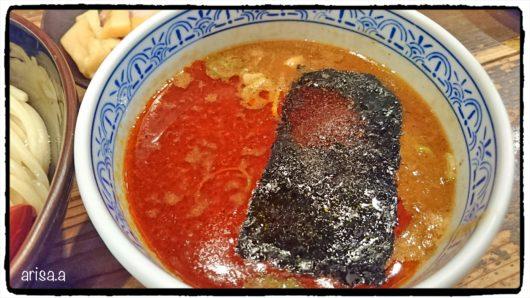 辛つけ麺のスープ