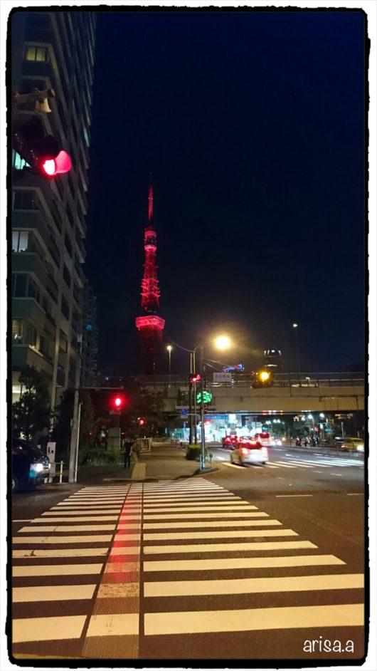 赤い東京タワー